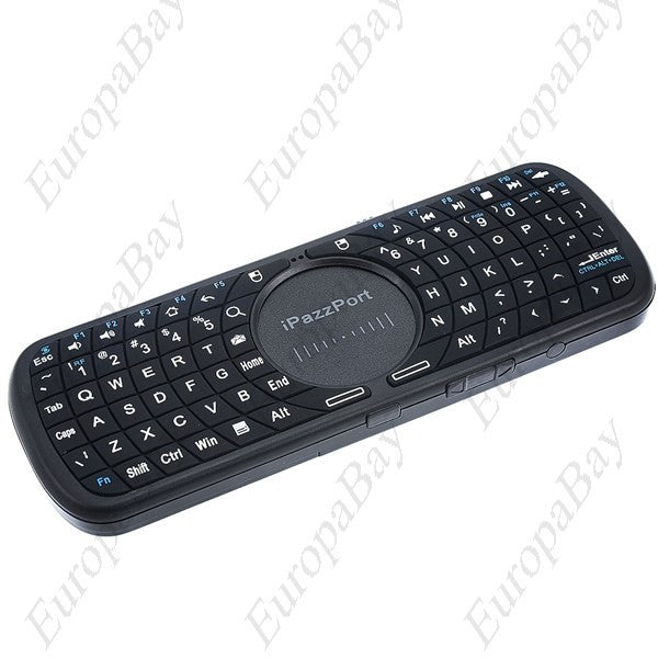 2.4G Mini Wireless QWERTY Keyboard Air Mouse Touchpad with LED Light for Tablet PC TV Box, Air Mouse, EuropaBay Limited