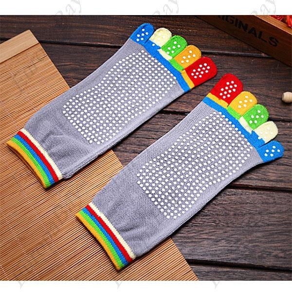 Yoga Finger Toe Socks! Stylish & Colourful, Five Finger Toe, Anti Skid/Slip, Yoga Socks, EuropaBay Limited