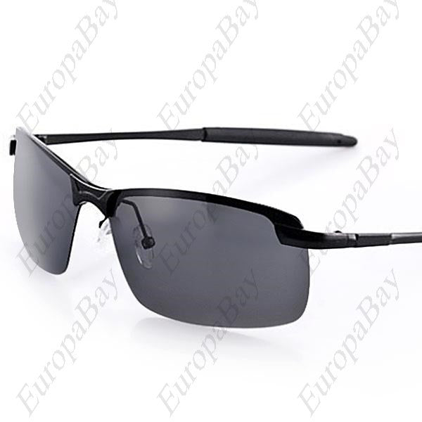 Fashion Alloy Frame AC Lens Polarized Night Vision Driving Glasses Sunglasses for Men + Eligible for Free Worldwide Shipping - EuropaBay - 1