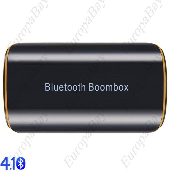 Bluetooth 4.1 Audio Receiver A2DP Wireless Adapter for Home Music Sound System with Built-in Battery, HiFi Bluetooth Receiver, EuropaBay Limited