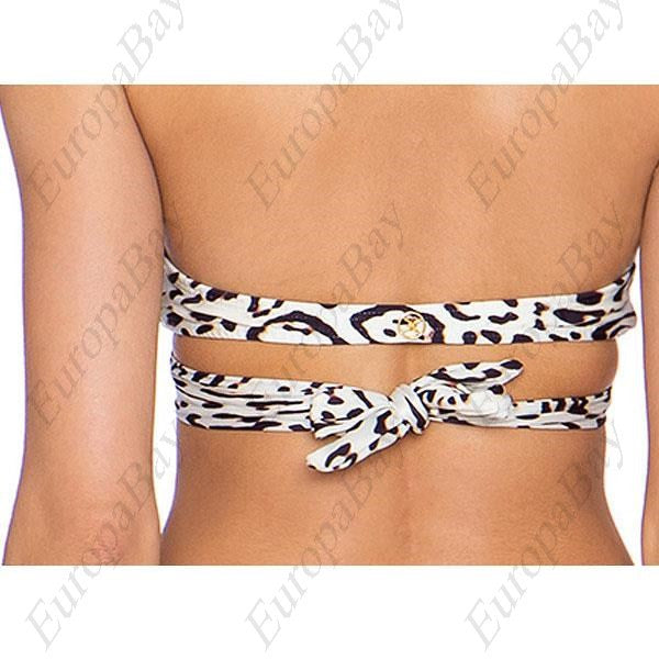 Women's Sexy Animal Leopard Print Wireless Halter Bikini Swimwear, Swimwear, EuropaBay Limited