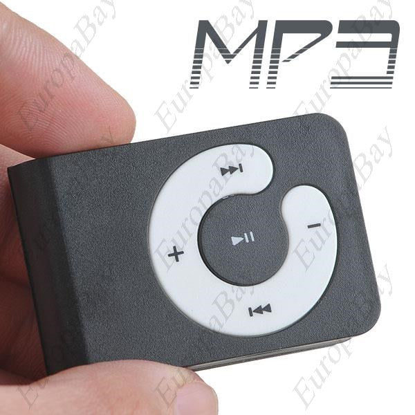 Clip-on MP3 Music Player with Circle Operation Pad & TF Slot, MP3 Player, EuropaBay Limited