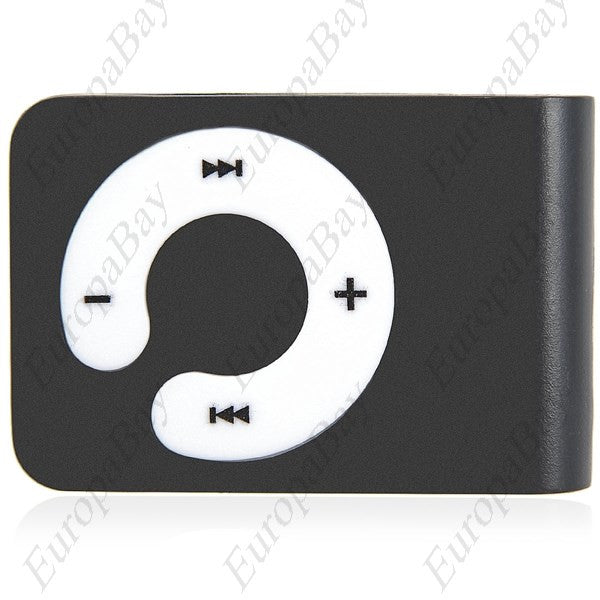 Clip-on MP3 Music Player with Circle Operation Pad & TF Slot + Eligible for Free Worldwide Shipping - EuropaBay - 1