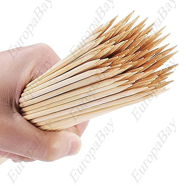 500pcs Bamboo Kebab Skewers for Barbecue, Barbecue Accessories, EuropaBay Limited