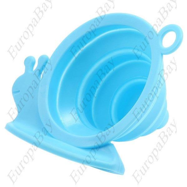 Silicone Collapsible Funnel for Oil or Water, Funnel, EuropaBay Limited