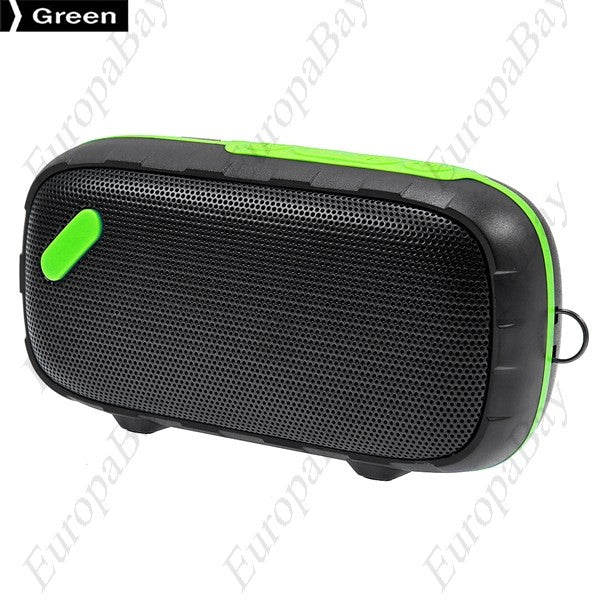 Waterproof Built-in Rechargeable Advanced Wireless Bluetooth Speaker Support Micro SD Card, Bluetooth Speaker, EuropaBay Limited