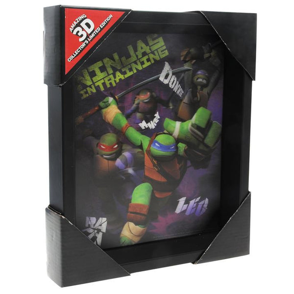 Character 3D Frame - TMNT + Free Worldwide Shipping - EuropaBay - 1
