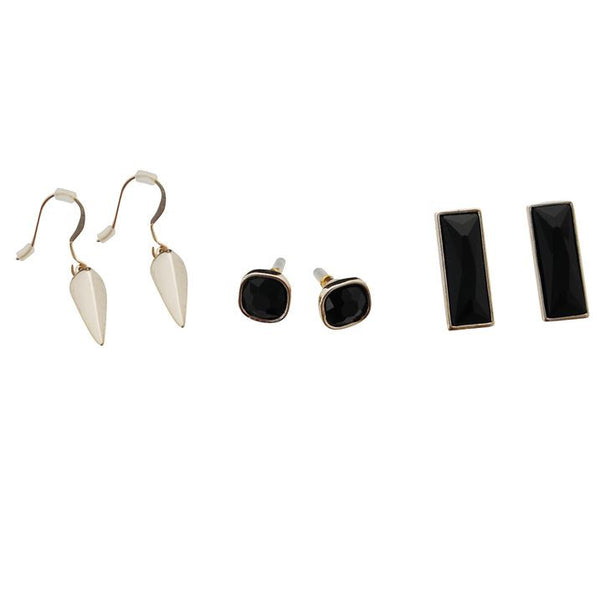 Kardashians, Luxury Ladies 3 Piece Earring Set + Free Worldwide Shipping - EuropaBay