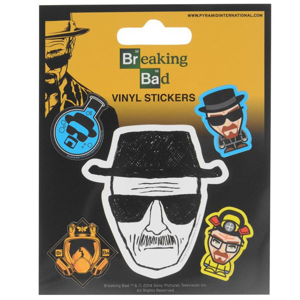 Breaking Bad - Character Vinyl Sticker Set - The Official Vinyl Set + Eligible For Free Worldwide Shipping - EuropaBay