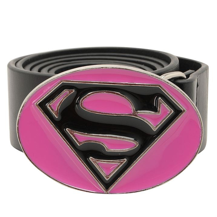 Supergirl Buckle Belt - The Official DC Comics Collection, DC Comics, EuropaBay Limited