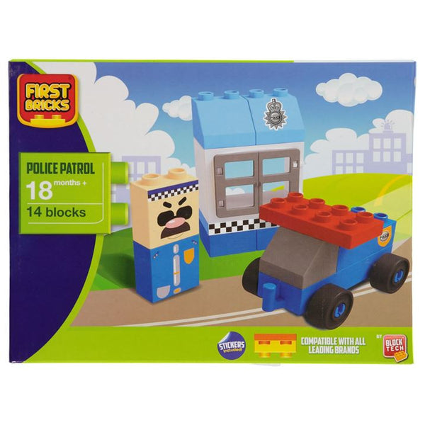 First Block Set - Police Theme + Eligible For Free Worldwide Shipping - EuropaBay
