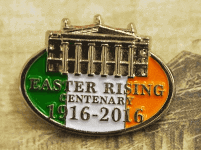 1916 - 2016 Commemorative Limited Edition Pin Badge