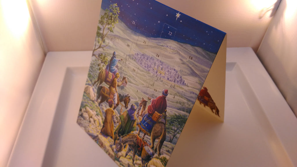 Advent Calendar Religious Theme, Christmas, Xmas [Wise Men Theme] [Medium], Advent Calendars, EuropaBay Limited