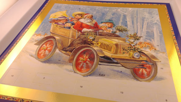 Advent Calendar, Santa Ride Theme, Christmas, Holidays, Religious, Christian, Holy, Brand New, Sealed - EuropaBay - 1