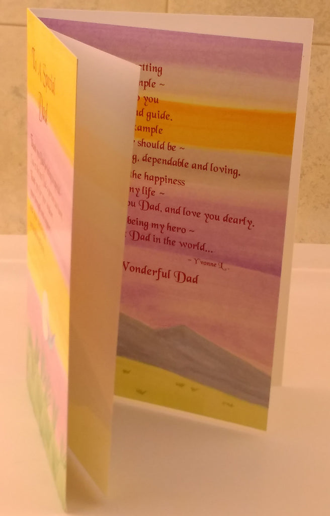 To a Special Dad, Designed By Sweet Sentiments, Greeting Cards & Invitations, EuropaBay Limited
