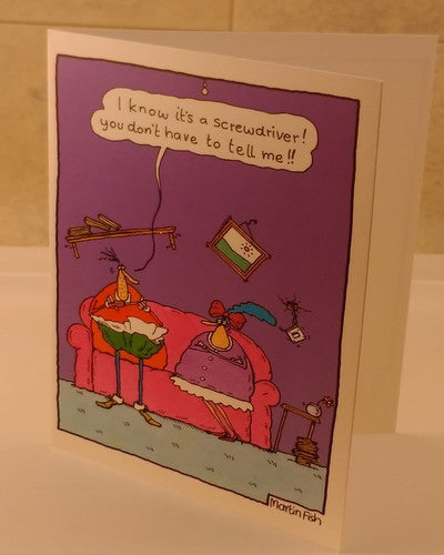 Comedy Greeting Card, Designed by Sanity Sucks - EuropaBay - 5