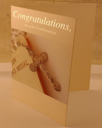 Confirmation Card, Holy, Religious, Designed By Paper Tree - EuropaBay - 4