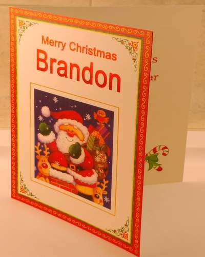 Christmas Cards, Designed & Made in Ireland By In Person [Brandon]