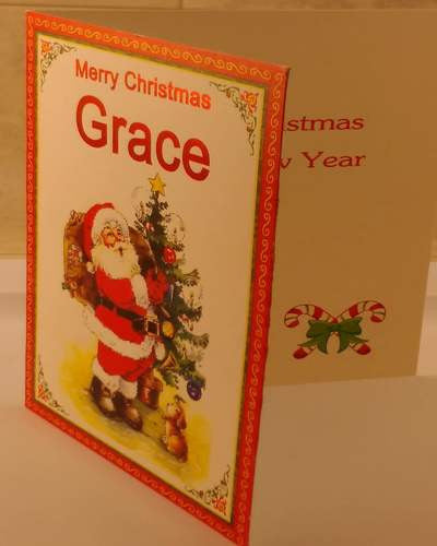 Christmas Cards, Designed & Made in Ireland By In Person [Grace]