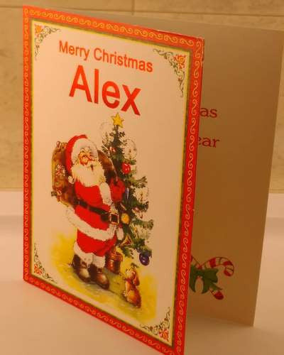 Christmas Cards, Designed & Made in Ireland By In Person [Alex]
