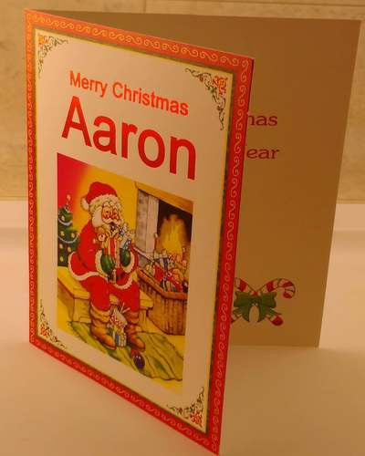 Christmas Cards, Designed & Made in Ireland By In Person [Aaron]