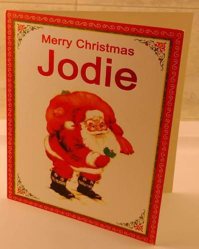 Christmas Cards, Designed & Made in Ireland By In Person [Jodie]
