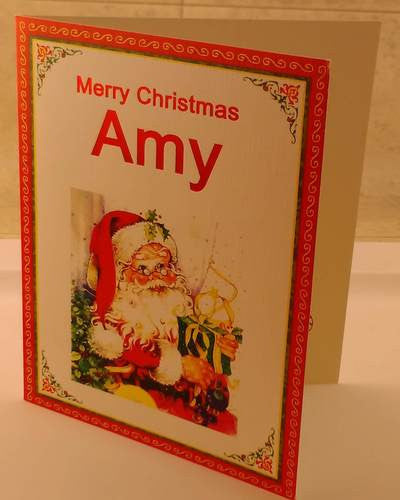 Christmas Cards, Designed & Made in Ireland By In Person [Amy]