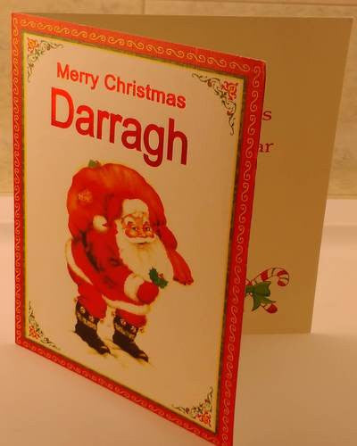 Christmas Cards, Designed & Made in Ireland By In Person [Darragh]