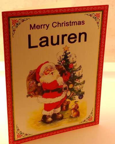 Christmas Cards, Designed & Made in Ireland By In Person [Lauren]