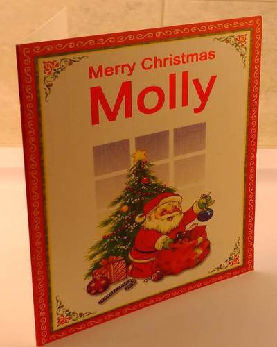 Christmas Cards, Designed & Made in Ireland By In Person [Molly]