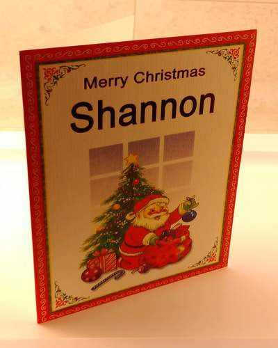 Christmas Cards, Designed & Made in Ireland By In Person [Shannon]