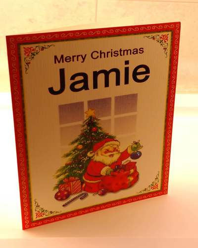 Christmas Cards, Designed & Made in Ireland By In Person [Jamie]
