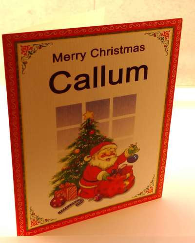 Christmas Cards, Designed & Made in Ireland By In Person [Callum]