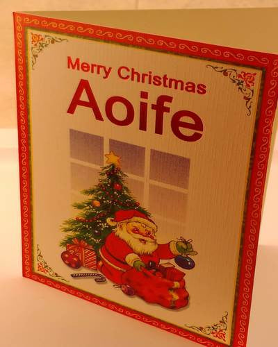 Christmas Cards, Designed & Made in Ireland By In Person [Aoife]