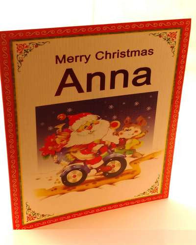 Christmas Cards, Designed & Made in Ireland By In Person [Anna]