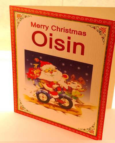 Christmas Cards, Designed & Made in Ireland By In Person [Oisin]