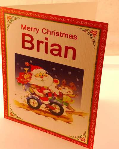 Christmas Cards, Designed & Made in Ireland By In Person [Brian]