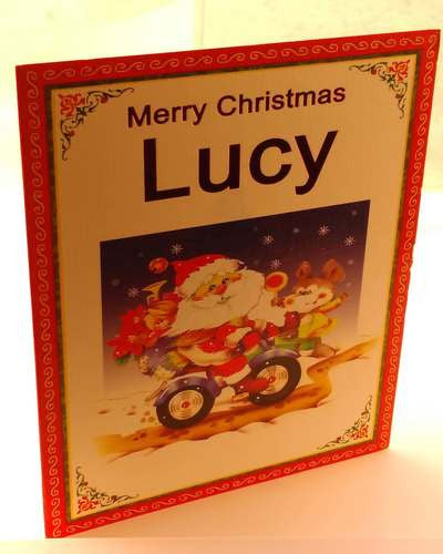 Christmas Cards, Designed & Made in Ireland By In Person [Lucy]