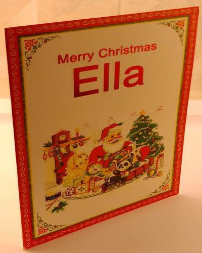 Christmas Cards, Designed & Made in Ireland By In Person [Ella]