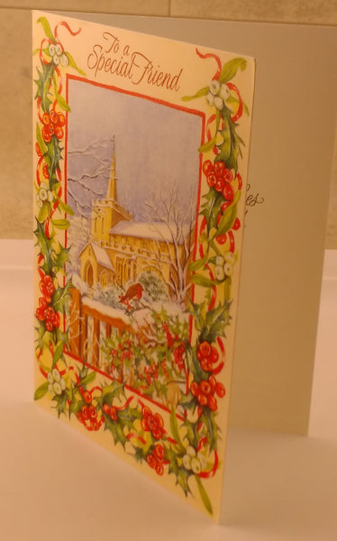 To a Special Friend, Christmas Cards, Designed by Camden Graphics - EuropaBay - 1