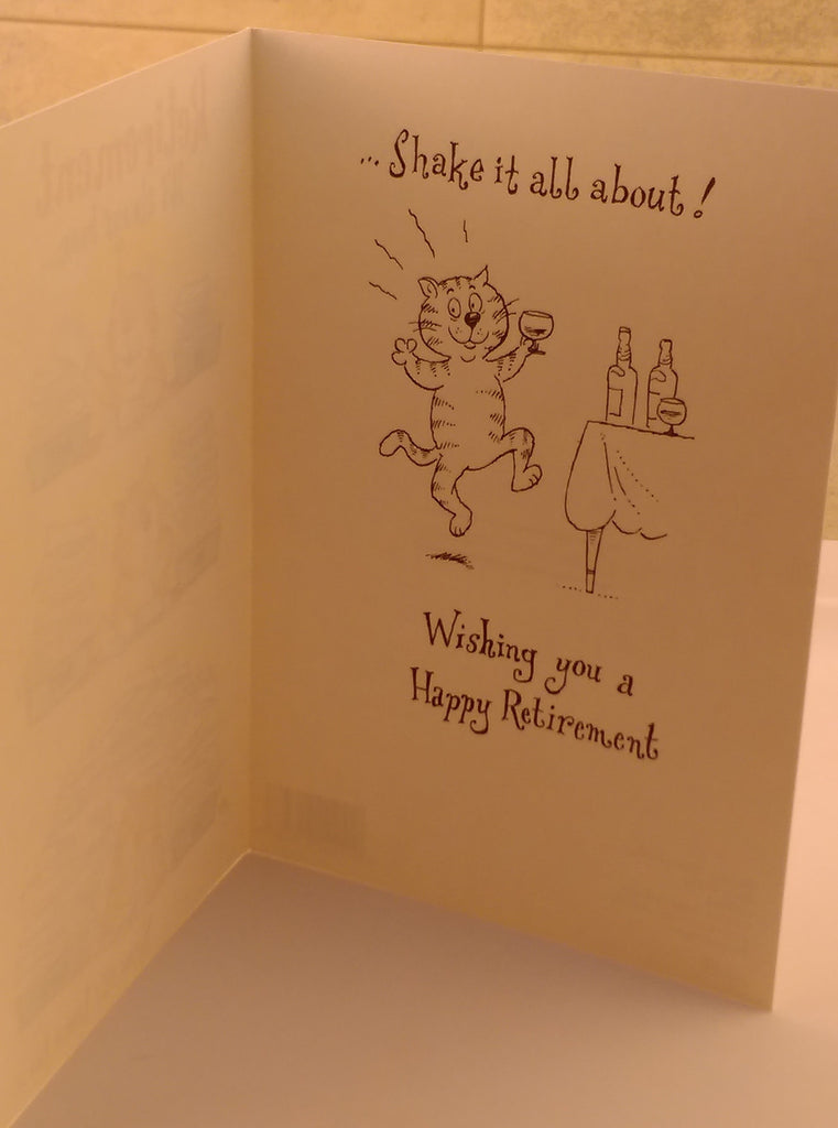 Retirement Card, Comedy, Unisex, Designed By Camden Graphics, Greeting Cards & Invitations, EuropaBay Limited