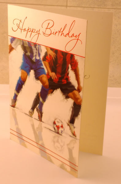 Happy Birthday, General Age, Footballer, Child, Teen, Designed By Paper House. - EuropaBay - 1
