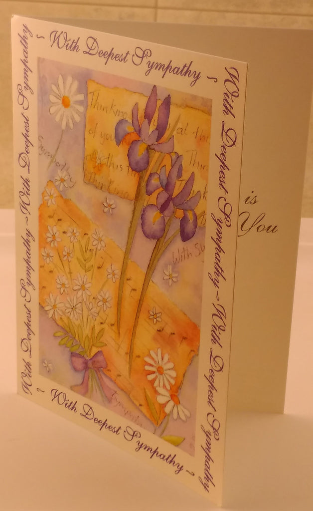 Sympathy Card, Thinking of you, Greeting Card, Designed By Camden Graphics, Greeting Cards & Invitations, EuropaBay Limited