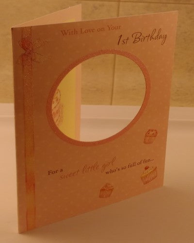 1st Birthday, Happy Birthday, Designed By Paper House - EuropaBay - 1