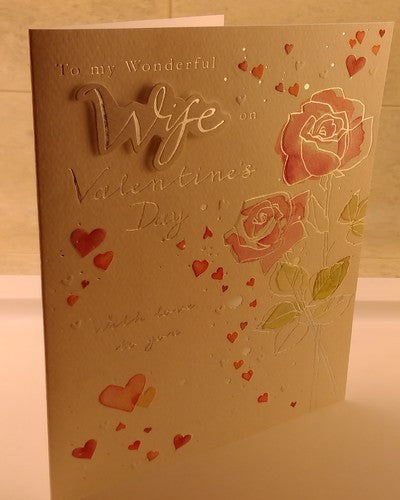 Valentines Day Card, Romantic, Unisex, Designed By Carolyn Carter, Sealed - EuropaBay - 8