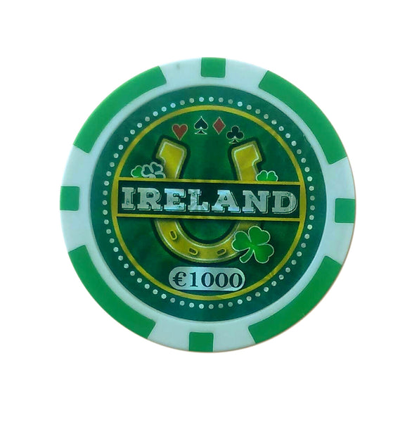 Ireland/Eire Special Limited Edition Authentic Poker Chip