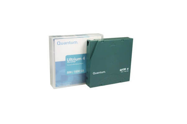 LTO-4 media cartridge for Ultrium tape drives.