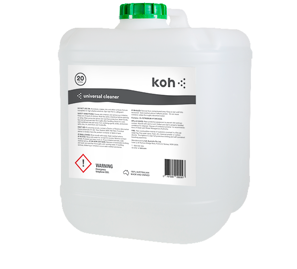 Koh® Universal Surface Cleaner - 20 Litre Container