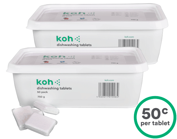 Koh® Dishwashing Tablets (2 x 50-Pack)