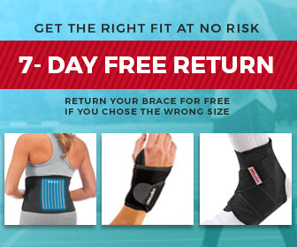 Back To Sport 7 days free return on braces